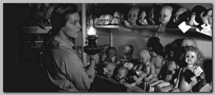 This doll hospital is legitimately terrifying. © 1965 – Columbia Pictures. All Rights Reserved.