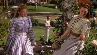 Rose and Esther talk about the hot guy next door, but they do so in such vivid color! © 1944 – MGM. All Rights Reserved.