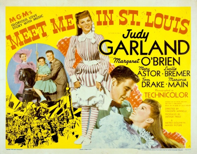 Meet Me in St. Louis movie poster. Lithograph, 1944. Missouri Historical Society, Photographs and Prints Collection. NS 21652. Scan © 2004, Missouri Historical Society.