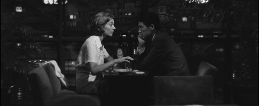 But their love is uncertain in length. They say farewell here, but the film continues for another day. At the film's end, they are together but seemingly not indefinitely. © 1959 – Rialto Pictures. All Rights Reserved.